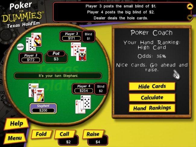Poker For Dummies - Screenshots - Bild 4