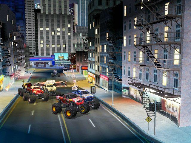 Monster Jam: Urban Assault - Screenshots - Bild 2