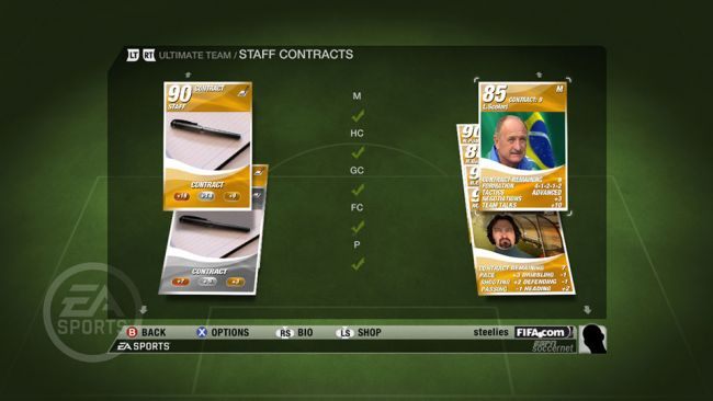FIFA 09 - DLC: Ultimate Team - Screenshots - Bild 12