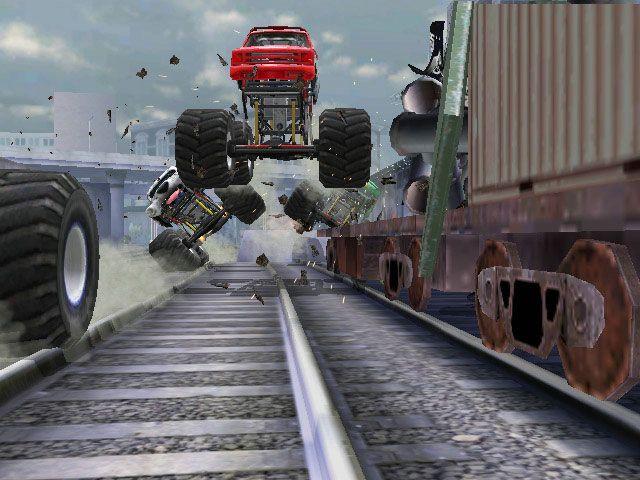 Monster Jam: Urban Assault - Screenshots - Bild 4