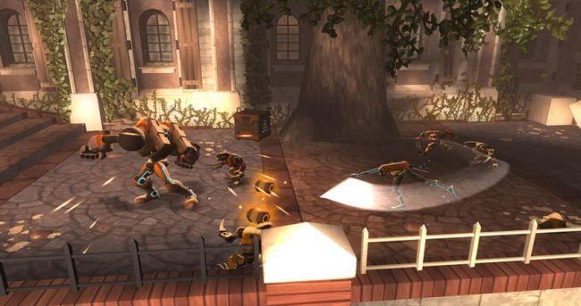 Spyborgs - Screenshots - Bild 2