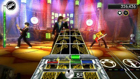 Rock Band Unplugged - Screenshots - Bild 2