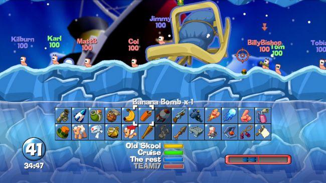 Worms - Screenshots - Bild 2