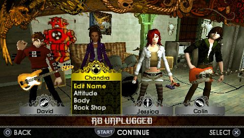 Rock Band Unplugged - Screenshots - Bild 5