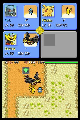 Pokémon Mystery Dungeon: Explorers of Sky - Screenshots - Bild 2