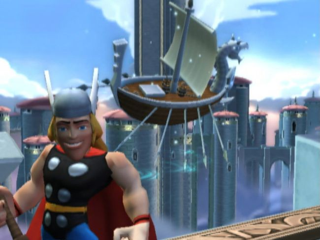 Marvel Super Hero Squad - Screenshots - Bild 3