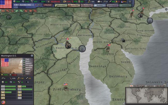 Hearts of Iron 3 - Screenshots - Bild 16