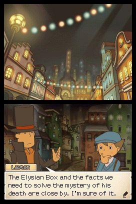 Professor Layton and the Diabolical Box - Screenshots - Bild 2