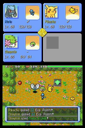 Pokémon Mystery Dungeon: Explorers of Sky - Screenshots - Bild 6