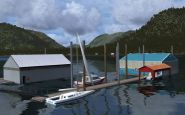 Tongass Fjords X für Flight Simulator X - Screenshots - Bild 2