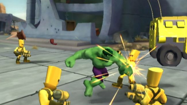 Marvel Super Hero Squad - Screenshots - Bild 2