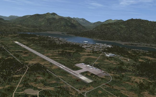 Tongass Fjords X für Flight Simulator X - Screenshots - Bild 3