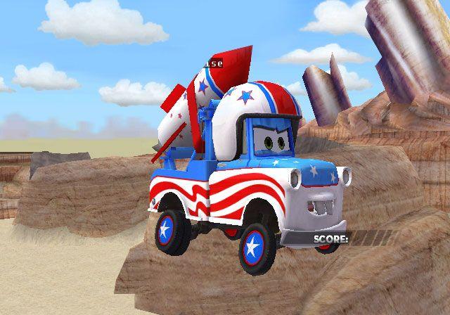Cars: Race-O-Rama - Screenshots - Bild 7