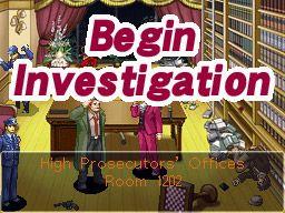 Ace Attorney Investigations: Miles Edgeworth - Screenshots - Bild 1