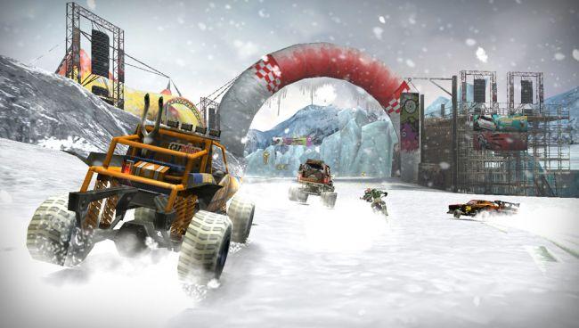 MotorStorm: Arctic Edge - Screenshots - Bild 2