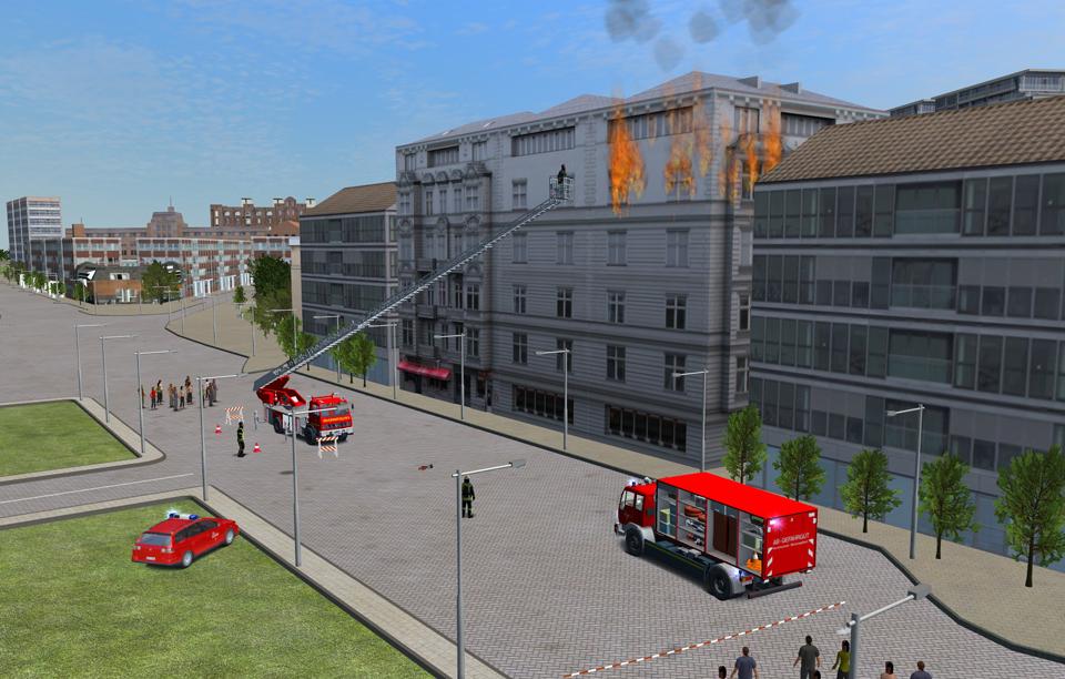 Feuerwehr-Simulator 2010: - Screenshots von Gameswelt