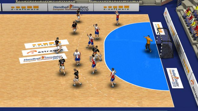 Handball-Simulator 2010 - Screenshots - Bild 1