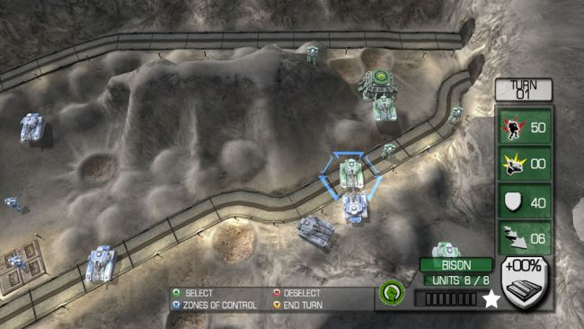Military Madness: Nectaris - Screenshots - Bild 1