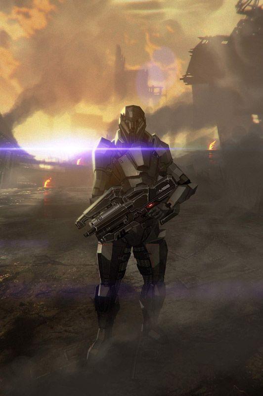 Mass Effect 2 - Bonus-Items für Vorbesteller - Artworks - Bild 2