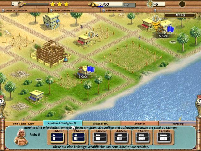 Besiedelte Welten - Das alte Ägypten - Screenshots - Bild 4