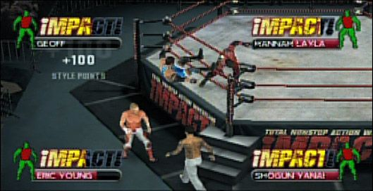 TNA iMPACT!: Cross the Line - Screenshots - Bild 5