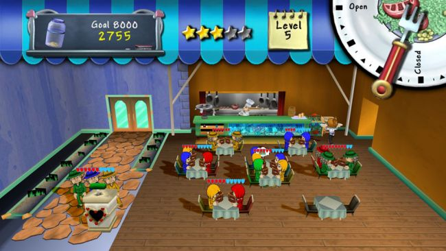 Diner Dash - Screenshots - Bild 3