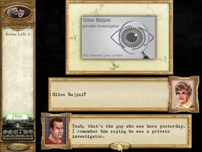 Murder, She Wrote - Screenshots - Bild 2