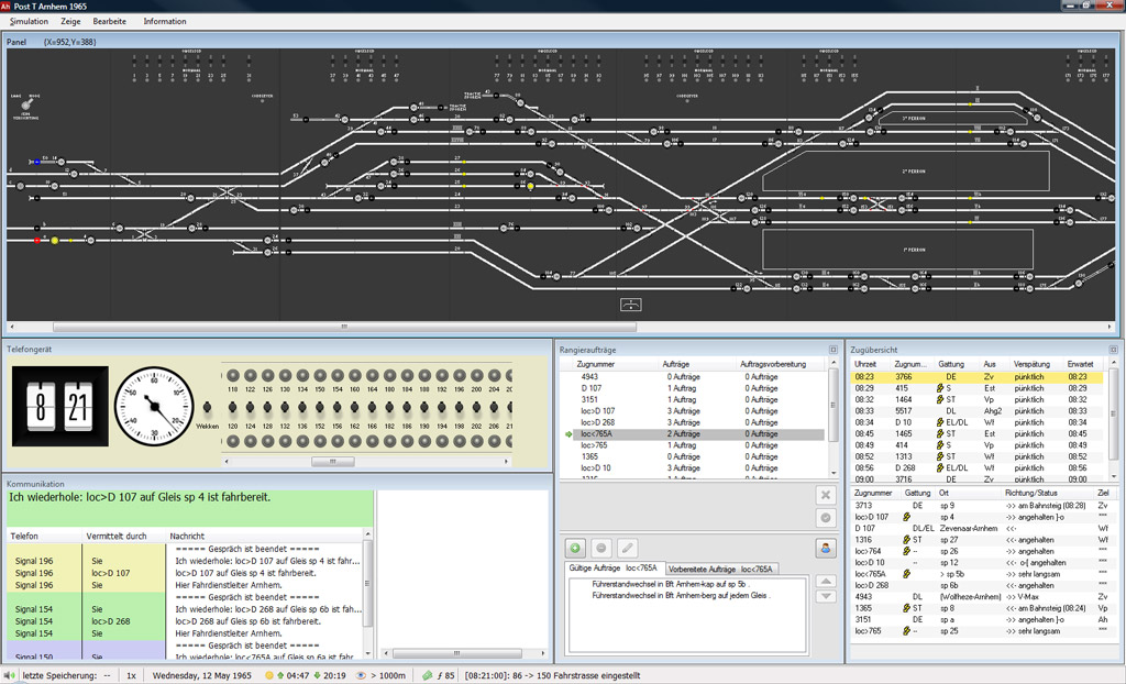 stellwerk simulator