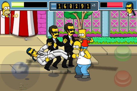 The Simpsons Arcade - Screenshots - Bild 3