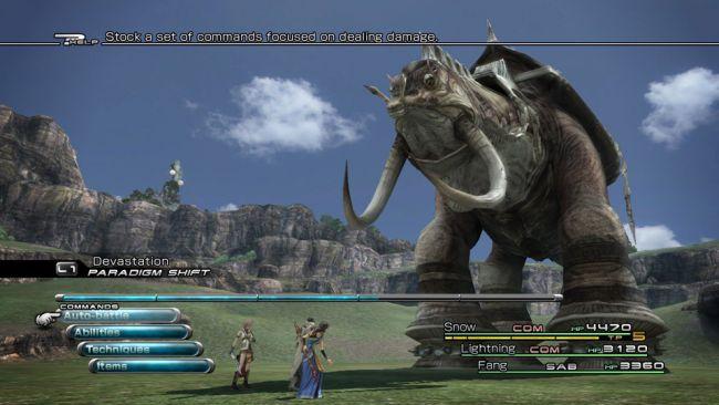 Final Fantasy XIII - Screenshots - Bild 1