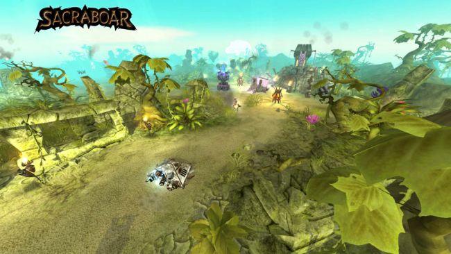 Sacraboar - Screenshots - Bild 3