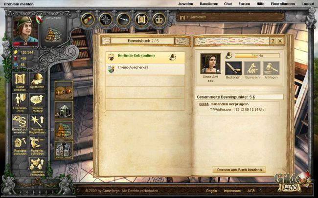 Gilde 1400 - Screenshots - Bild 7