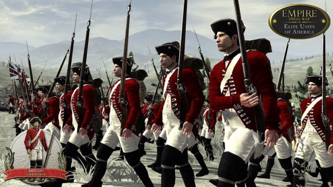 Empire: Total War - DLC: Elite-Einheiten Amerikas - Screenshots - Bild 1