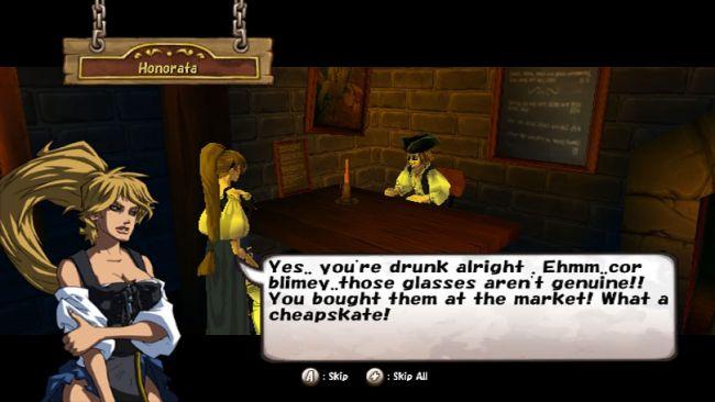 Pirates: Adventures of the Black Corsair - Screenshots - Bild 3