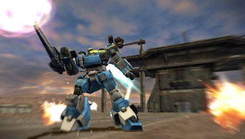 Armored Core: Silent Line Portable - Screenshots - Bild 2