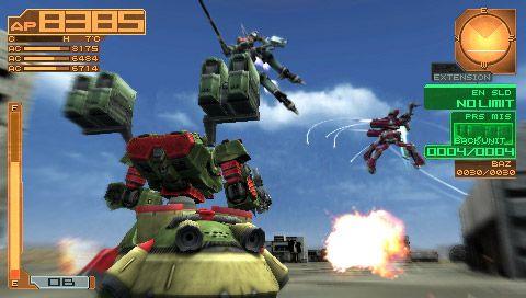 Armored Core: Silent Line Portable - Screenshots - Bild 3