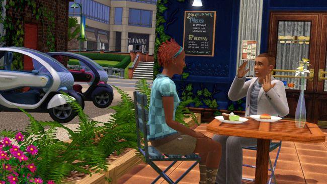 Die Sims 3 - DLC: Twizy Z.E Concept Car - Screenshots - Bild 5