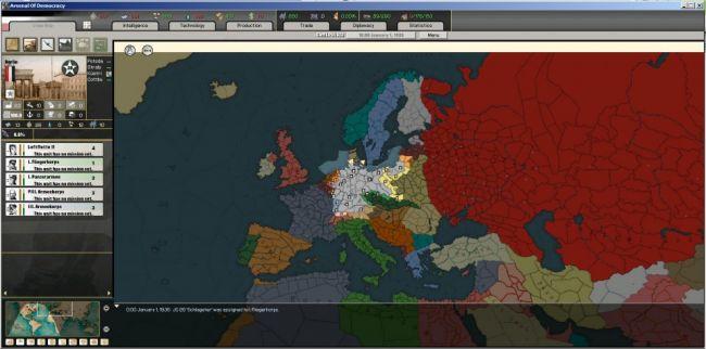 Hearts of Iron: Arsenal of Democracy - Screenshots - Bild 1