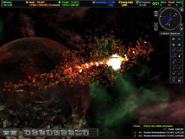 AI War: Fleet Command - Screenshots - Bild 4