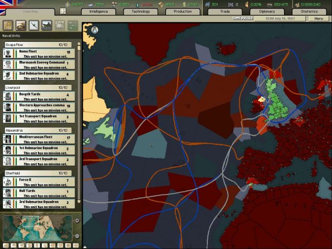 Hearts of Iron: Arsenal of Democracy - Screenshots - Bild 12