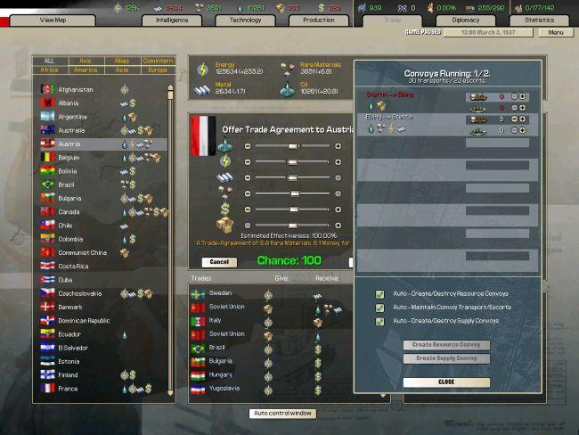 Hearts of Iron: Arsenal of Democracy - Screenshots - Bild 4