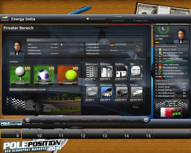Pole Position 2010 - Screenshots - Bild 3