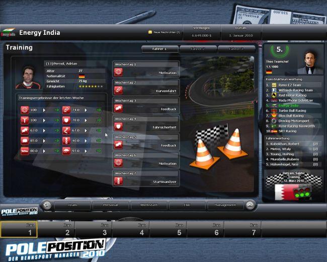 Pole Position 2010 - Screenshots - Bild 1
