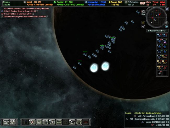 AI War: Fleet Command - Screenshots - Bild 1