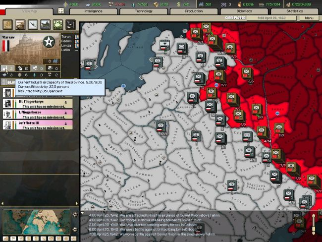 Hearts of Iron: Arsenal of Democracy - Screenshots - Bild 20