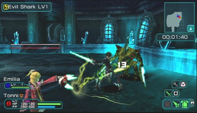 Phantasy Star Portable 2 - Screenshots - Bild 1