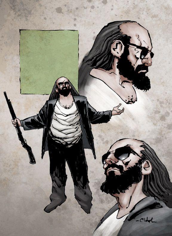 Kane & Lynch 2: Dog Days - DC Comic - Artworks - Bild 8