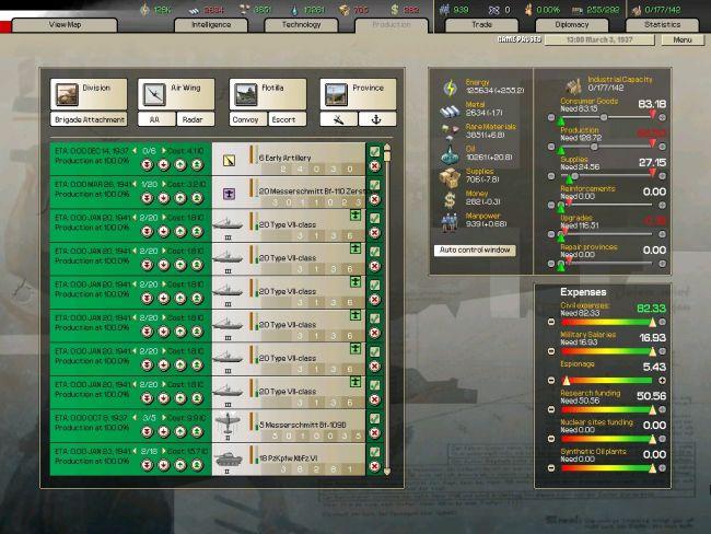 Hearts of Iron: Arsenal of Democracy - Screenshots - Bild 19