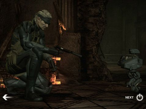 Metal Gear Solid Touch - Screenshots - Bild 1