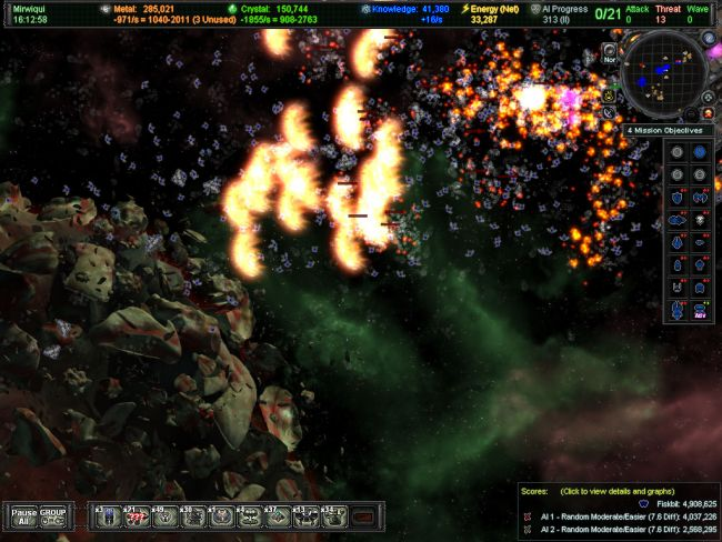 AI War: Fleet Command - Screenshots - Bild 2